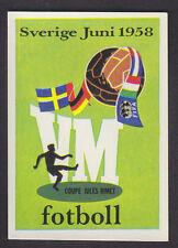 Panini-Argentina 78 Copa del Mundo - # 17 cartel 1958