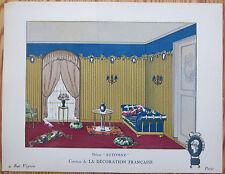Gazette du Bon Ton Pochoir Art Deco Decor Automne - 1920