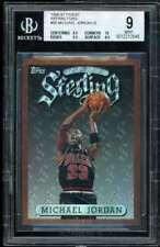 Michael Jordan Card 1996-97 Finest Refractors #50 BGS 9 (9.5 10 9.5 8.5)