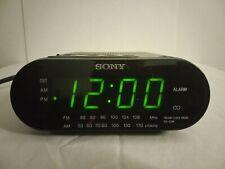 Sony AM / FM Clock Radio Dream Machine Model ICF-C218. Tested : Working