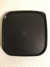 Tupperware Modular Mates Square Seal Replacement Lid 1623 Black Brand New