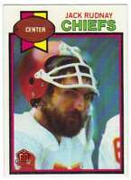 2015 Topps Football Foil Stamped BuyBack 1979 Topps #304 Jack Rudnay Chiefs