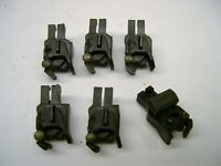6 Repro American Flyer Split Conversion Knuckle Couplers + 6 Split Rivets