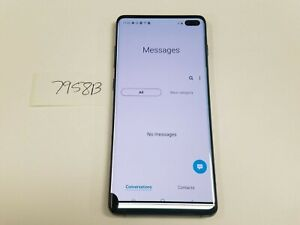 Samsung Galaxy S10+ SM-G975U - 128GB - Prism Black (Sprint-Unlocked) (7958B)