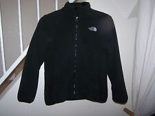 girl's size Large (14-16) black The North Face fleece jacket/zip front