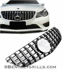 Mercedes E Class Grille Coupe Cabrio W207 AMG Grill Panamericana GT Look 2013 On