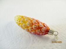 """Old World Christmas Ornament 4-1/2"""" Gold Pinecone"""
