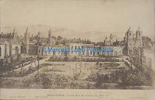 ARGENTINA MENDOZA VISTA DE LA CIUDAD TOMADA EN 1861 REAL PHOTO
