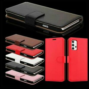 For Samsung Galaxy A10 A12 A21S A31 A42 5G Leather Wallet Stand Magnetic Case