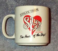 """Stolen From"" Silver City Casino Las Vegas, NV The Heart of the Strip MUG 1990"