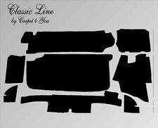 Alfombra maletero conjunto para mercedes r107 sl 71 - 80 SW, alfombrilla alfombra para maletero,