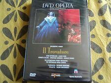 "DVD NEUF ""IL TROVATORE - Elijah MOSHINSKY"" Collection opera DEL PRADO"