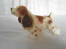Vintage hand painted Spaniel figure Japan