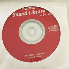Boss RC -20 Sound Library Disc 2001 CD