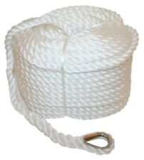 Anchor Marine Rope Boat Mooring Line Stainless Steel Thimble 6mm X 50 Metres