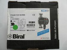Biral PrimAX 15 - 8 / 130 Hocheffizienz-Heizungspumpe,SWISS MADE Spitzenfabrikat