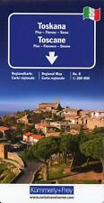 KuF Italien Regionalkarte 08. Toskana 1 : 200 000 (Sheet map)