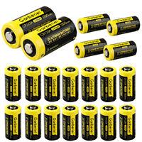 20 X CR123A Garberiel 3V Lithium Camera Batteries (DL123, 123, EL123, CR17345)
