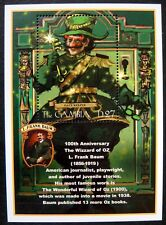 2001 MNH GAMBIA WIZARD OF OZ STAMPS SOUVENIR SHEET GATE KEEPER 100TH ANNIVERSARY