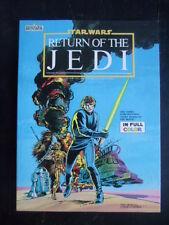 Star Wars Return of the Jedi movie adaptaion Marvel Books Luke Darth Chewbacca