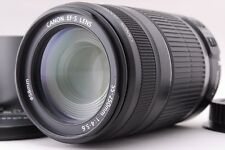 Near Mint Canon EF-S 55-250mm F4-5.6 IS w/Close-up Lens From Japan #1228142