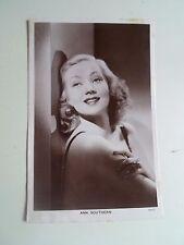 Vintage RP Postcard ANNE SOUTHERN (SOTHERN) 1909 - 2001 US Stage+Film+TV+Radio