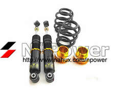 SYC ADJUSTABLE DAMPER COILOVERS REAR PAIR for FORD FALCON FG XR8 Sedan 08-11 V8