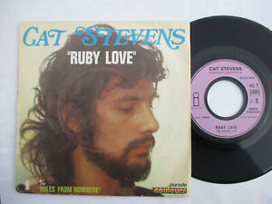 SP 45 tours CAT STEVENS  Ruby love + mile from nowhere
