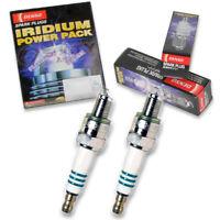 2 pc Denso Iridium Power Spark Plug for Honda CMX250C Rebel 1985-2007 Tune cn