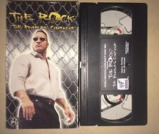 WWF - The Rock The Peoples Champion (VHS, 1999) WWE WCW NWO RARE