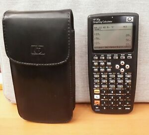 HP 50g Graphing Calculator - excellent condition, as new with HP leather case