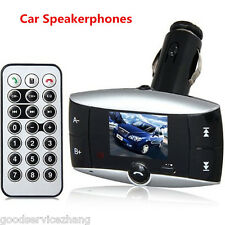 LCD Wireless Bluetooth FM Transmitter MP3 Player Car Kit Charger For iPhone 6