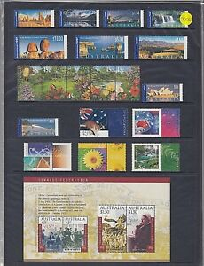 """2000 AUSTRALIA """"THE COMPLETE COLLECTION OF 2000 AUSTRALIAN STAMPS"""" FULL SET MNH"""