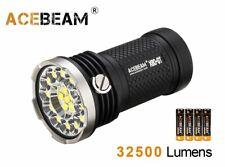 Acebeam X80-GT Cree XHP50.2 32500 Lumens LED Flashlight - Black