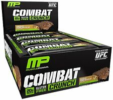 MusclePharm Combat Crunch Protein Bars Chocolate Peanut Butter Cup (12 Bars)