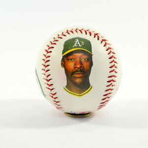 1989 MLB Official Fotoball Dave Stewart Oakland Athletics Photoball Baseball