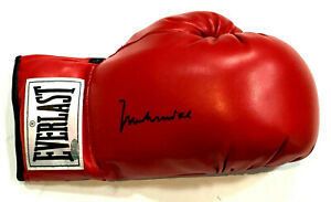 Muhammad Ali Signed Everlast Boxing Glove Mint Autograph OA & Steiner COA