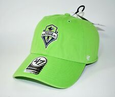 MLS Seattle Sounders Fc Clean Up '47 Adjustable Hat One Size Strapback