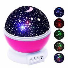 Novelty Luminous Toys Romantic Starry Sky LED Night Light Projector For Children