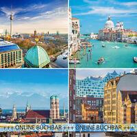 3T Kurzurlaub in eine Stadt der Wahl: 21 Städte - 6 Länder, Hotelgutschein a&o