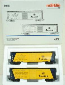 Marklin 4858 Alaska Freight Car Set LN/Box