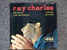 RAY CHARLES - Hide nor hair - 45T / EP