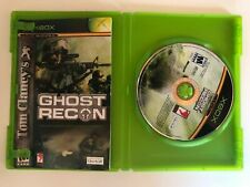 Tom Clancy's Ghost Recon Microsoft MINT Disc Xbox Complete CIB Fast Ship READ