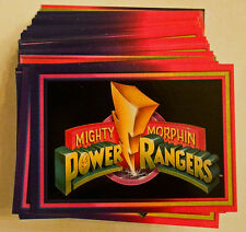 Power Rangers - 1994 Series 1 - Card Lot (includes Powerfoil)