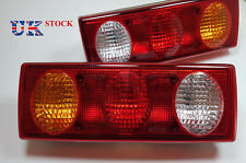 2x Rear Truck Tail Lights Lamps fit Bus Caravan Camper Van Pickup Tipper Chassis