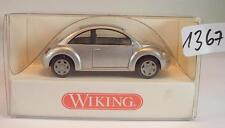 Wiking 1/87 n. 035 08 24 VW VOLKSWAGEN NEW BEETLE LIMOUSINE ARGENTO OVP #1367