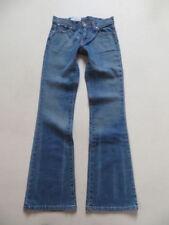 Damen-Bootcut-Jeans Bundhöhe (en) Hosengröße 34 in Langgröße