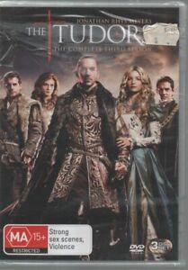 THE TUDORS Complete Third Season BRAND NEW SEALED DVD MA15+ 3 discs Region 4