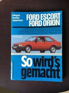 Reparaturanleitung Ford Escort/Ford Orion v. Etzold vom Delius Klasing Verlag
