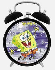 """SpongeBob SquarePants Alarm Desk Clock 3.75"""" Home or Office Decor Z149"""
